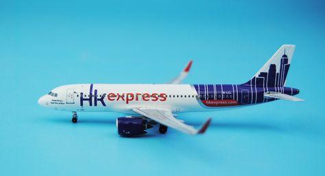 Special offer PandaModel 1: 400 Hong Kong Express A320neo / w B ...