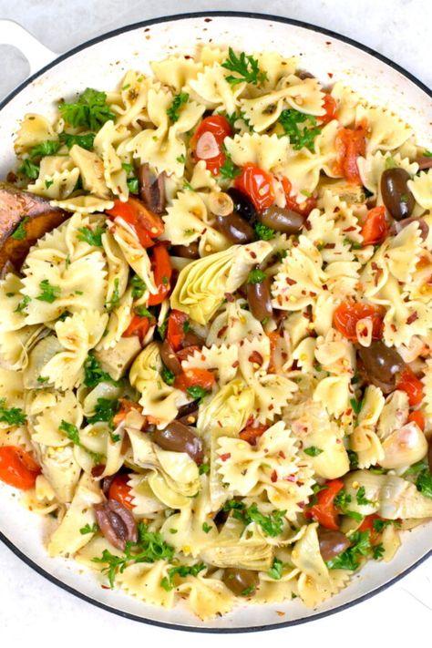 Mediterranean Pasta - GypsyPlate