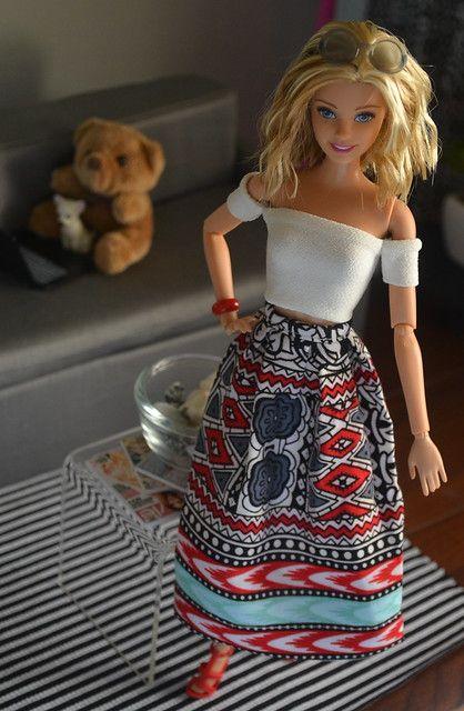 Ateliernishasha Dollies Of 2015 Barbie Clothes Sewing Barbie Clothes Diy Barbie Clothes