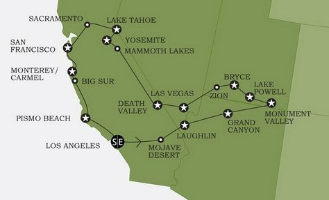 Map Of National Parks In United States Map Of National Parks In - Us map mojave desert