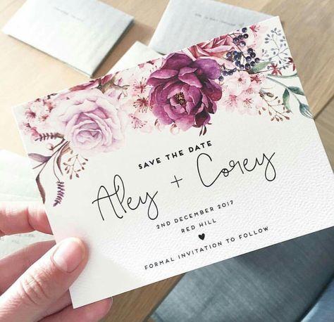 Floral classy modern white invitation engagement invitation design - best of invitation letter sample for debut