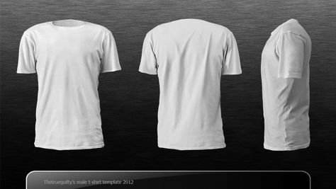 Download Male T Shirt Template By Thetrueguilty Deviantart Com On Deviantart Baju Kaos Desain Web Desain Produk