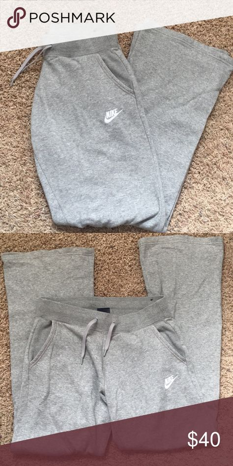 Nike grey sweatpants Size: SMALL. NWOT. Never worn - too small for me Nike Pants Boot Cut & Flare