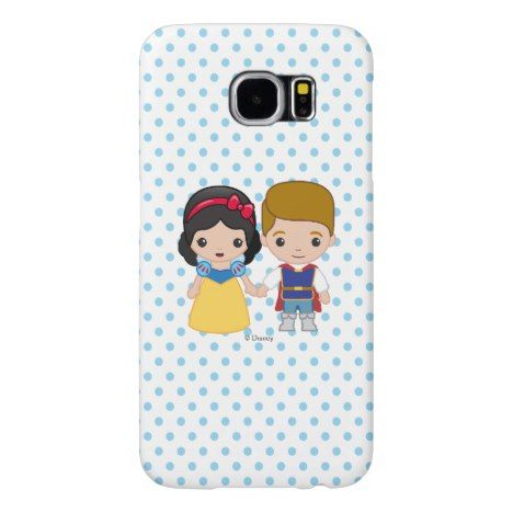 Snow White and Prince Charming Emoji Samsung Galaxy S6 Case