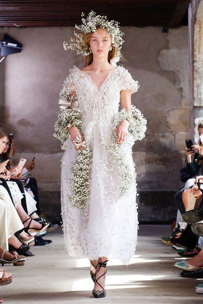 Rodarte, Spring 2018 - Paris Runway Dresses Perfect for an Edgy Bride - Photos