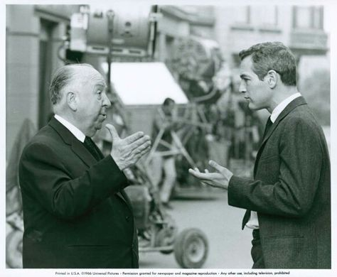 Image result for paul newman and alfred hitchcock