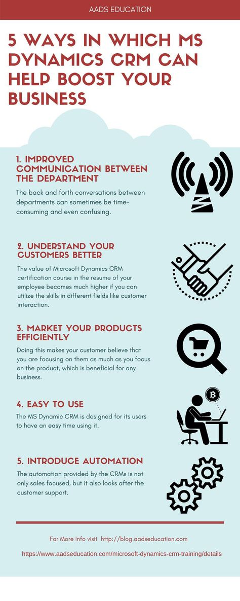 5 Reasons why you and your company needs Microsoft Dynamics CRM ...