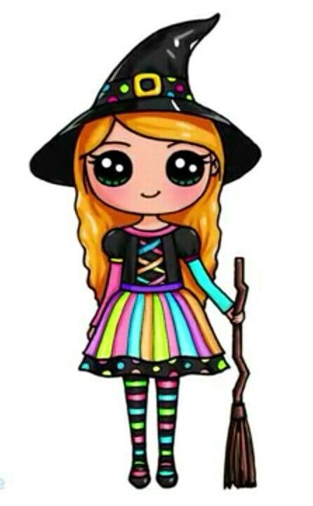 Pour Halloween Em 2020 Kawaii Desenhos Fofos Desenhos