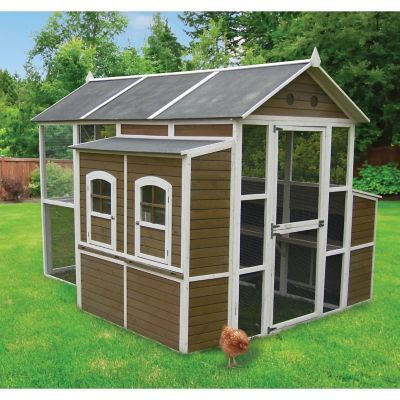 Find Innovation Pet X Large Chicken Barn Chicken Coop In The Chicken Coops Pens Category At Tractor Supply C Chicken Barn Chicken Coop Diy Chicken Coop Plans
