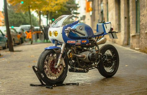 BMW R100R Cafe Racer by XTR Pepo