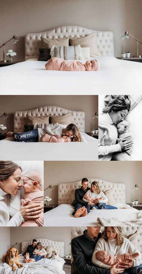 10 Premium Newborn Photography Props Girl Outfit Newborn Photography Deer Props – Newborn About Newborn Family Pictures, Newborn Baby Photos, Newborn Shoot, Newborn Poses, Baby Girl Newborn, Family Posing, Newborn Sibling, Newborns, Family Bed Photos