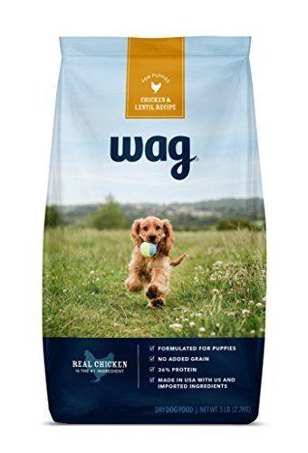 Amazon Brand Wag Dry Dog Food Trial Size Bag No Added Grain