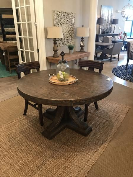 Griffith 54 Round Dining Table Driftwood Round Dining Round