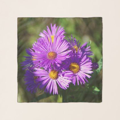 Aster Scarf Floral Gifts Flower Flowers Flower Gift Flowers Floral Flowers