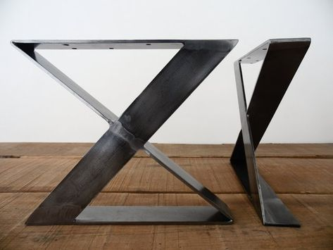 Metall Bank Beine 16 X Frame Flachstahl Tischbeine Hohe 12 Bis