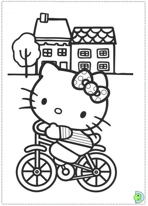 22 Ide Mewarna Hello Kitty Buku Mewarnai Warna Gambar