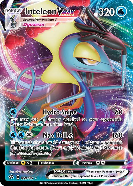 Pokémon TCG: Inteleon VMAX League Battle Deck