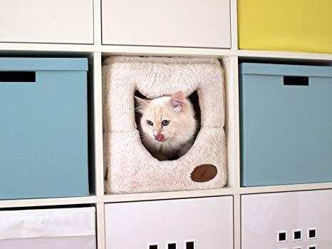 Lucky Tigerhöhle Die flauschige Katzenhöhle für dein IKEA