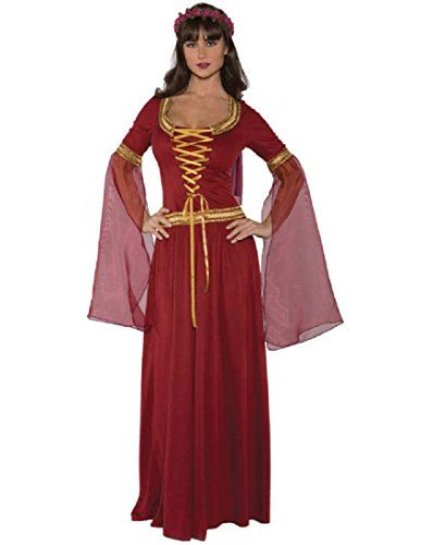 Underwraps Costumes Womens Renaissance Queen Costume Maiden