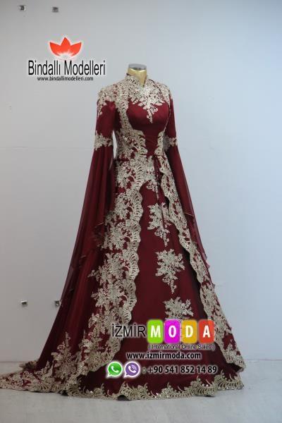 Tesettur Kaftan Ve Bindalli Modelleri The Dress Elbise Dugun Musluman Elbisesi