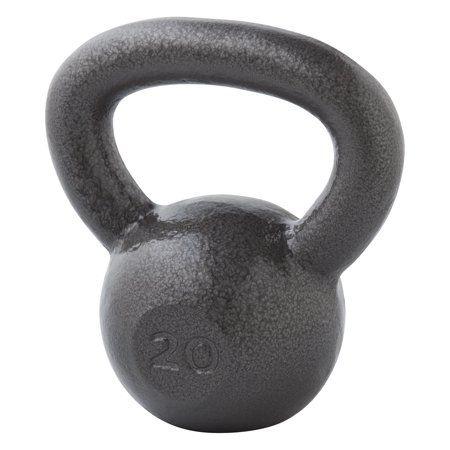 Kettle Bell Black weight fitness CAST iron Black Gym workout kettlebell