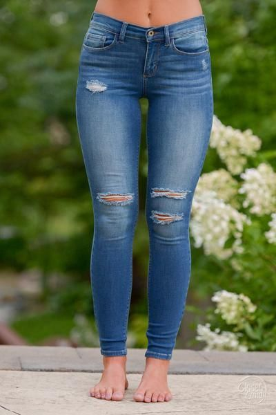 Where to get ripped skinny jeans