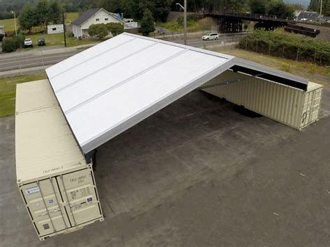 Resultado de imagen de shipping container roof