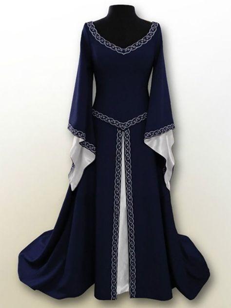 Gothic Medieval Larp Velvet Tunic Wotan Black Red New