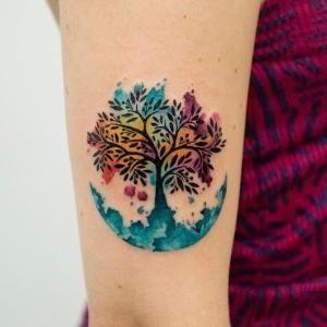 Tatuajes Con Gran Significado Con Cual Te Identificas 2019 Tatuaje Arbol De La Vida Tatuaje Del Arbol De La Vida Tatuaje De Arbol En Acuarela