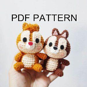 13 Super Cute DIY Crochet Keychain Ideas With Free Patterns - Crocht | 300x300