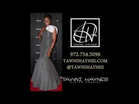See how fabric flows on the Bow Mermaid Gown. Order @ http://shop.tawnihaynes.com/ProductDetails.asp?ProductCode=1shldr-mrmd-gwn or call 972-754-5096 .