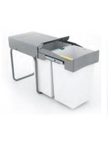 Cubo Basura Extraíble Cubo De Basura Reciclaje De Cocina Cubo De Basura Armario De Cocina Rincón Organización De Cocina