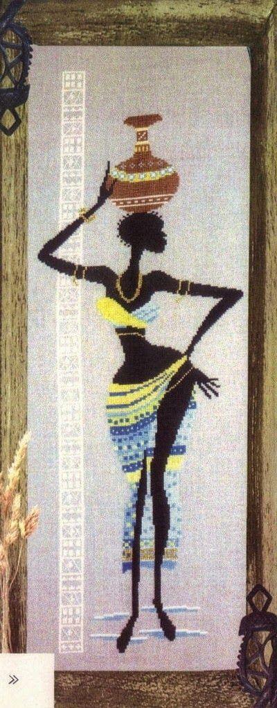 106 best punto cruz áfrica images on Pinterest | Punto de cruz ...