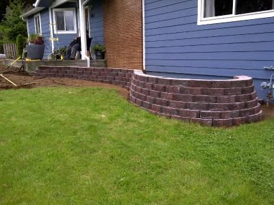 Basic Charcoal Retaining Wall Block Common 4 In X 12 In Actual