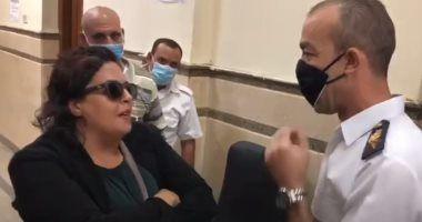 الحكم على المتهمة بقضية سيدة المحكمة لتعديها على ضابط اليوم Mens Sunglasses Men Sunglasses