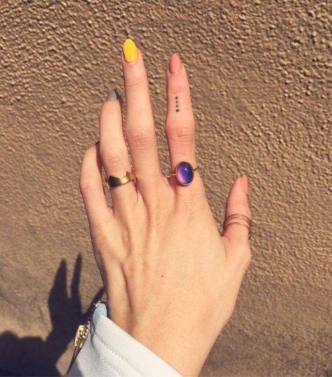 Oval Mood Ring sterling silver or gold