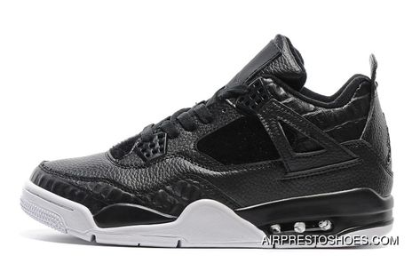 Air Jordan 4 PRM Black Pony Hair 'Pinnacle'