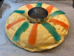 Roscón De Reyes Sin Gluten Receta De Javilowin Gmail Com Receta Recetas Sin Gluten Roscón De Reyes