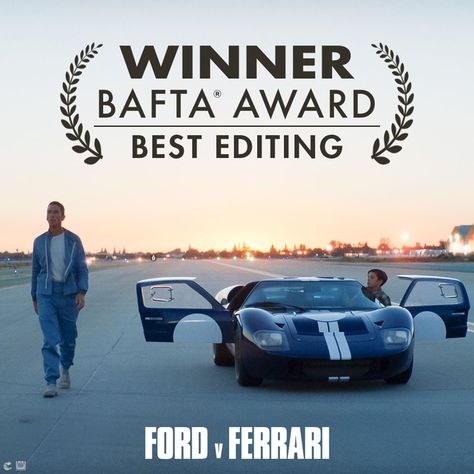 Congratulations To Ford V Ferrari For Winning The British Academy