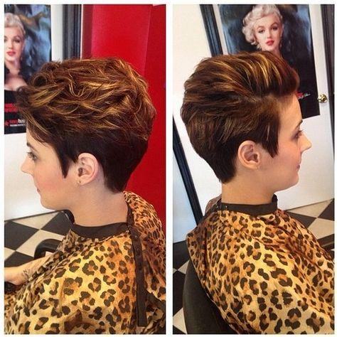 Color/Highlights! Chic Short Hairstyles for Women - Short Haircuts 2015