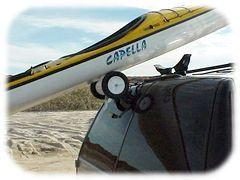 Rollerloader Kayak Roof Rack Rollers For Loading Kayaks And