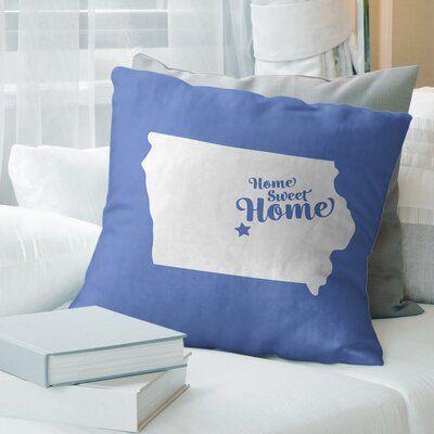 East Urban Home Home Sweet Pillow