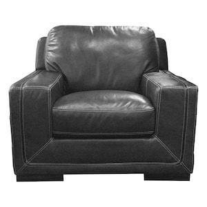 Strange Mannix Leather Chair In Amarillo Ghost Nebraska Furniture Home Interior And Landscaping Oversignezvosmurscom