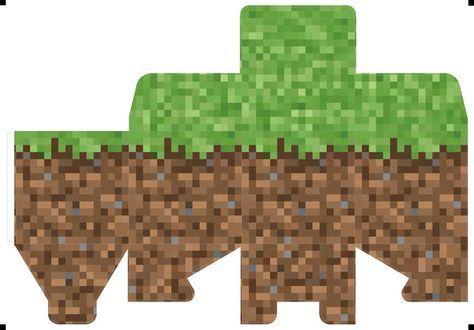 マイクラのペパクラ第2弾は草ブロック展開図あり マインクラフト