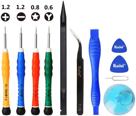 YESCOO PCS iPhone Repair Tool Kit iPhone Screwdriver for iPhone X XSiPhone Plus Plus Plus SCSS and M, Amazon Affiliate link. Click image for detail, #Amazon #yescoo #pcs #iphone #repair #tool #kit #screwdriver #xsiphone #scss #morephillipspentalobe #tri #point #triwing #screwdriversyescoo #professional #repairers #carefully #selectedmost #practical #tools #youso #matter #noob #experts #phone #youself #complete
