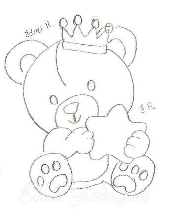 Resultado De Imagem Para Ursinho Principe Toalha Pintura Em Tecido