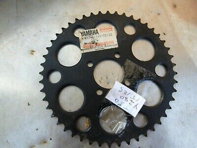 Vintage Yamaha New Old Stock Genuine Dt50 Yz80 And It125 Rear Sprocket In 2020 Yamaha Yamaha Yz 125 Things To Sell