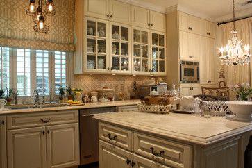 Cream Colored Kitchen Cabinets Design Ideas