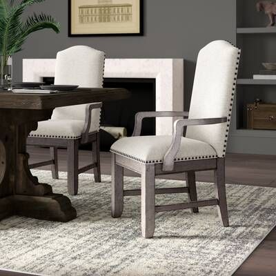 Devers Extendable Dining Table In 2020 Upholstered Dining Chairs