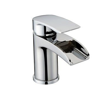 Harbour Grace 600mm Wall Mounted Vanity Unit With Polymarble Basin White Gloss Wall Mounted Vanity Basin Mixer Kitchen Spray Taps